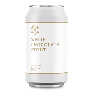 Spectrum White Chocolate Stout can
